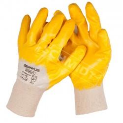Rękawice nitrylowe SERWUS