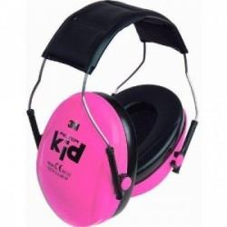 Nauszniki dla dzieci 3M Peltor KID - różowy neon