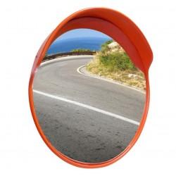 Convex lustro drogowe 60 cm pomarańczowy plastik
