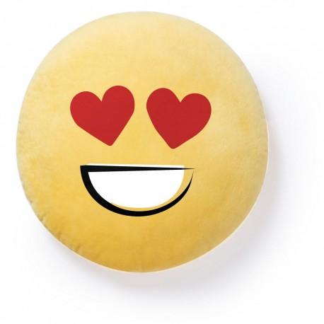 """Poduszka """"uśmiechnięta buzia"""" (hearts) V7926-08D"""