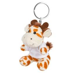 Lizzy, pluszowa żyrafa, brelok HE731-18