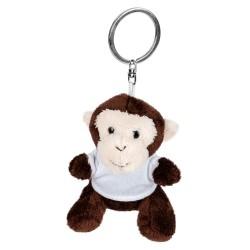 Karly, pluszowa małpa, brelok HE732-16