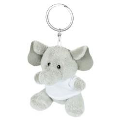 Hugo, pluszowy słoń, brelok HE733-19