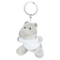 Patsy, pluszowy hipopotam, brelok HE734-19