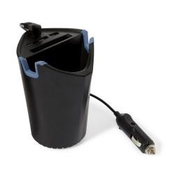 Ładowarka samochodowa do uchwytu na napoje, uchwyt do telefonu V3784-03