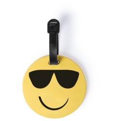 "Zawieszka do bagażu ""uśmiechnięta buzia"" (sunglasses) V8937-08C"