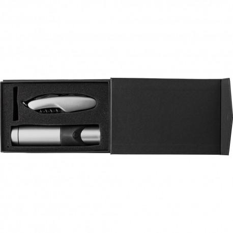 Zestaw narzędzi, latarka i nóż wielofunkcyjny V8748-32