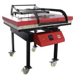 Wielkoformatowa automatycznie otwierana prasa termotranfserowa 80x100cm PTMHP01