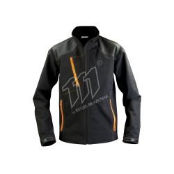 Kurtka Pure Black / orange -9264